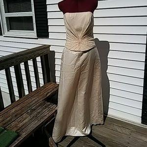 *SALE* Almond color Raylia gown sz12